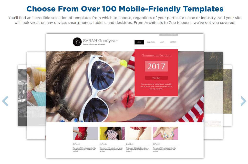 mobile-friendly templates
