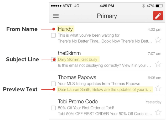 preview text email