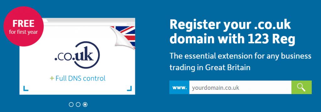 free .co.uk domains