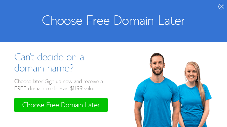 can't decide domain name