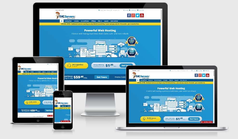 THCservers Review - Top 10 Website Hosting