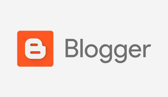 blogger logo blogging platform