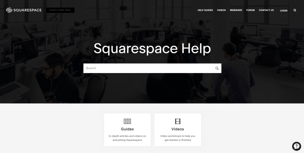 squarespace customer support